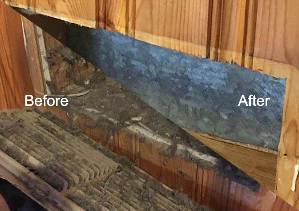Air Duct Cleaning Before and After 2