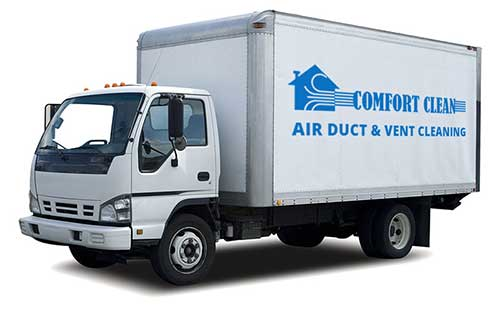 ComfortClean Air Duct Cleaning Truck